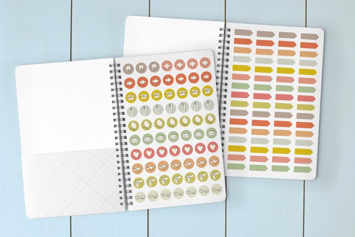 A Little Paris Notebook stickers
