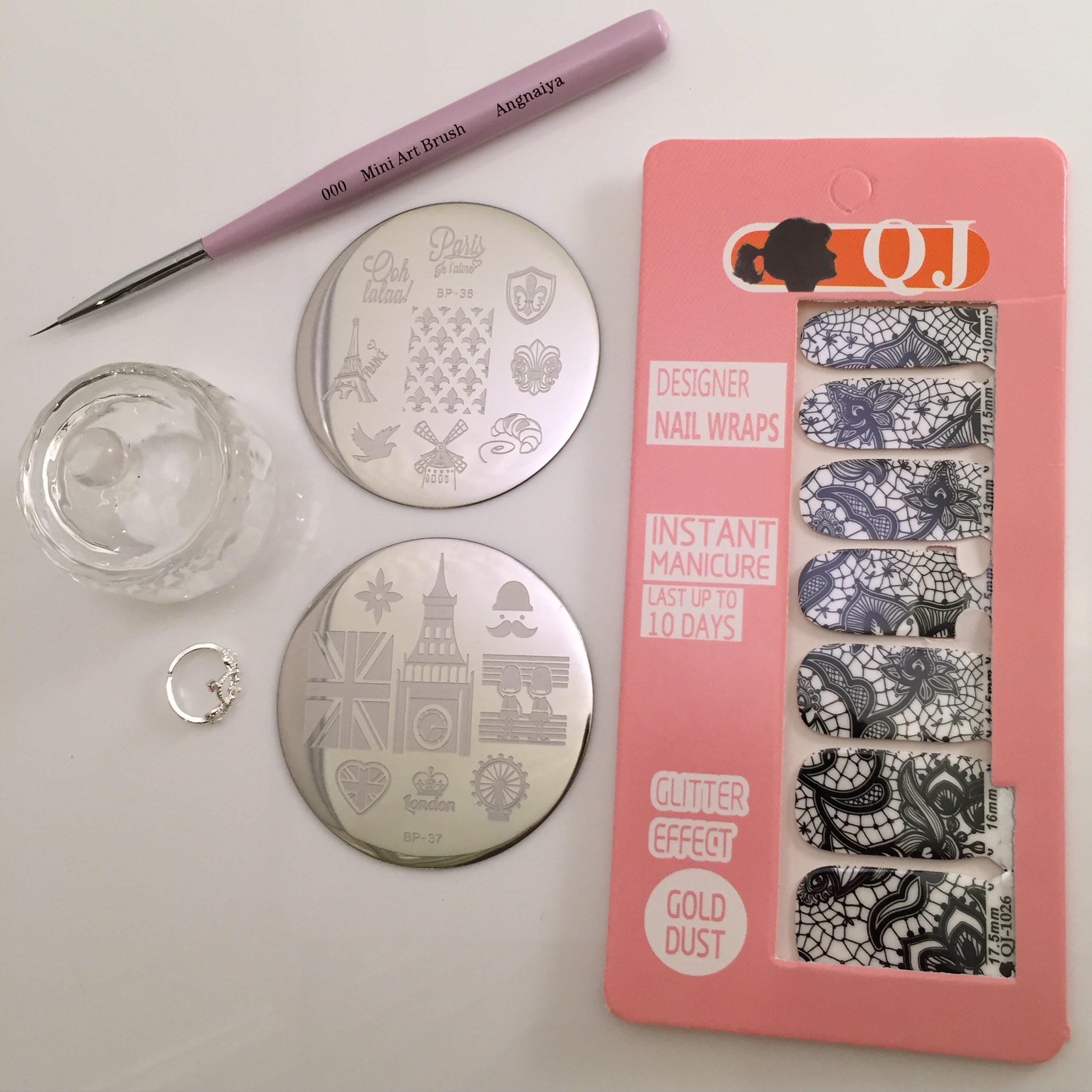 Nail Art Stamp Collecting Any Second Now
