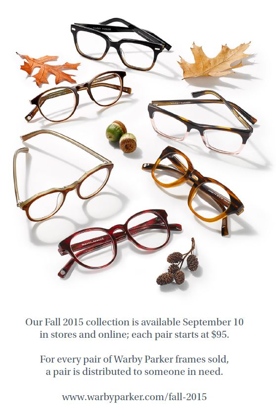 Warby Parker New Fall Collection 3
