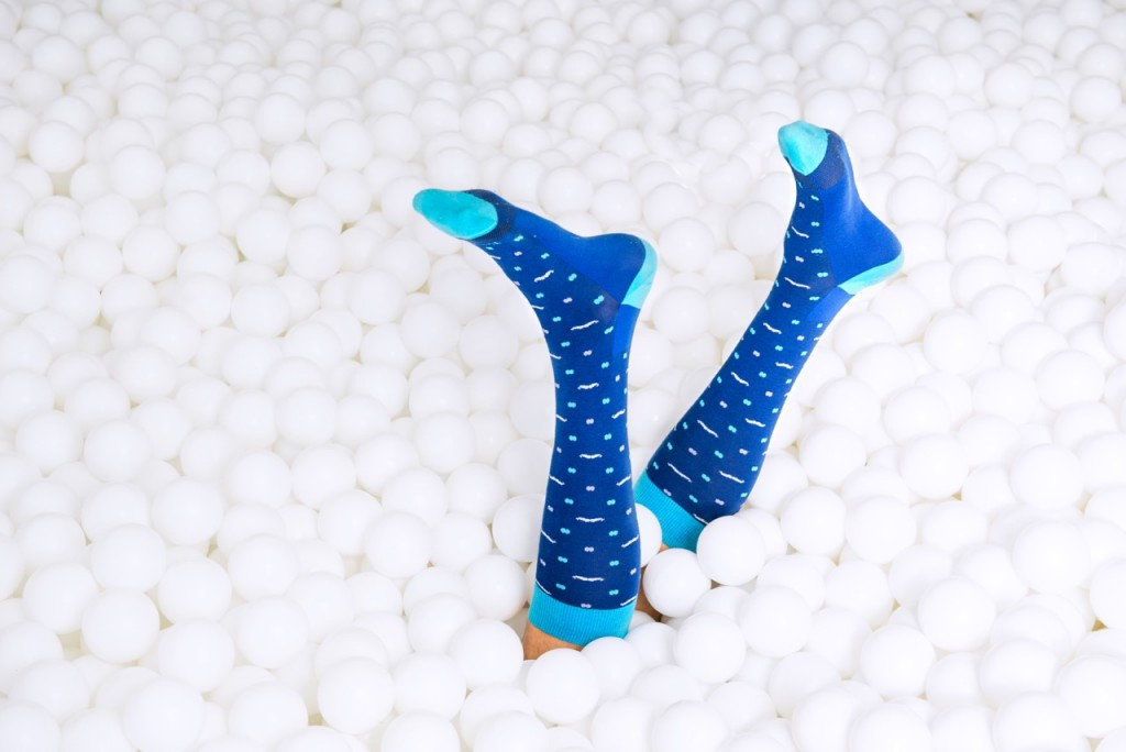 Mustache Socks (1)