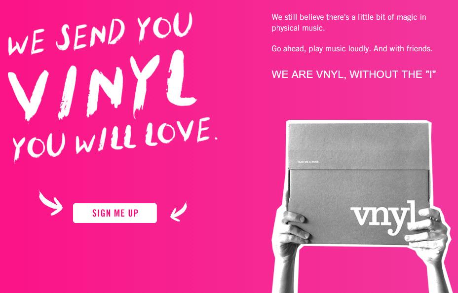 Get VNYL