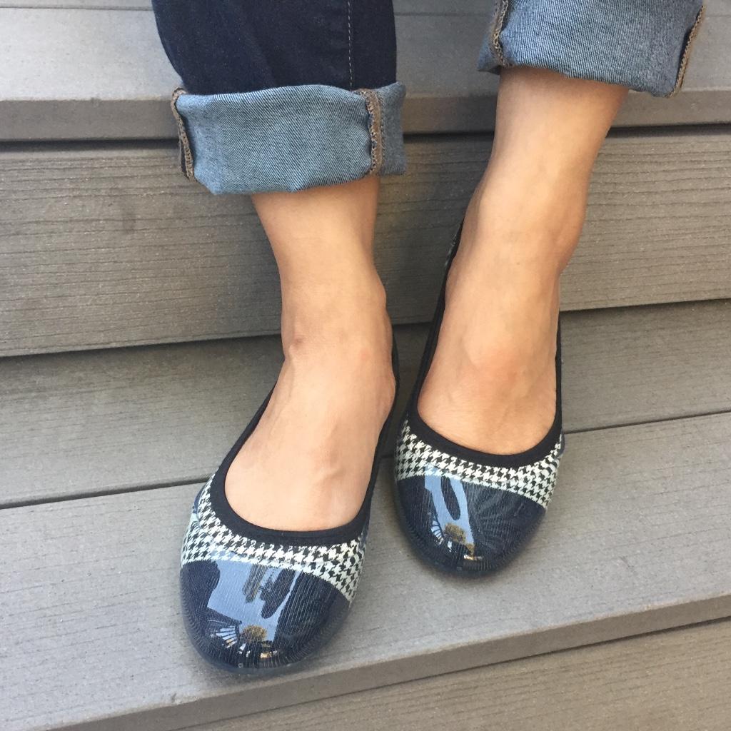 Ivory Flat Shoes Ebay