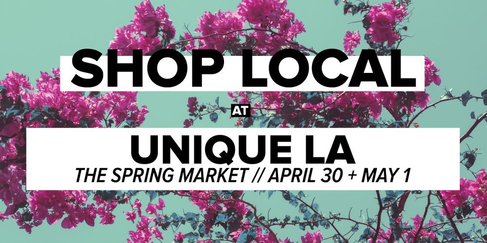 Unique LA Spring Market 2016