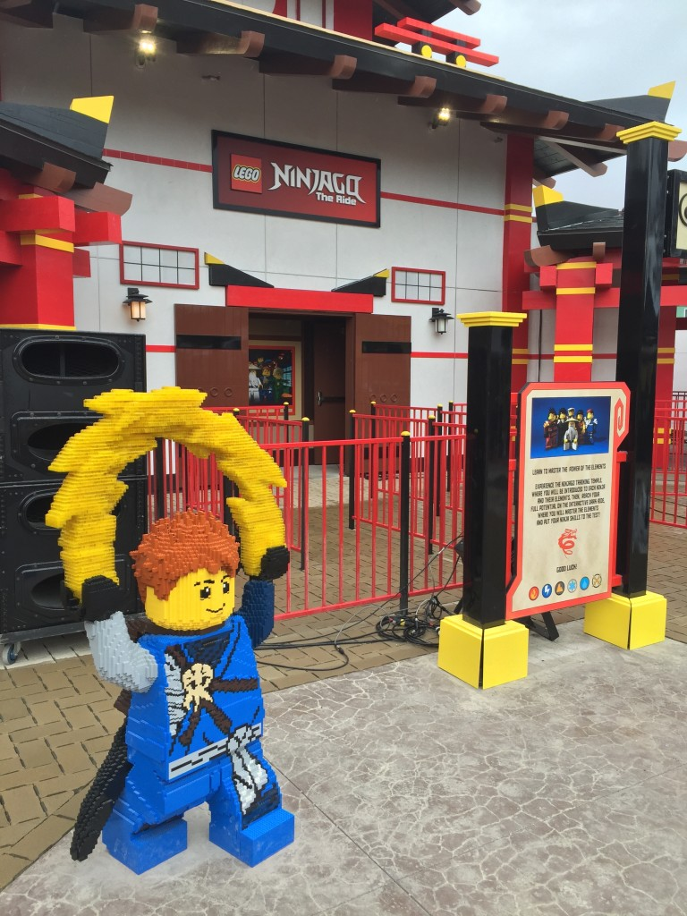 Ninjago The Ride 1
