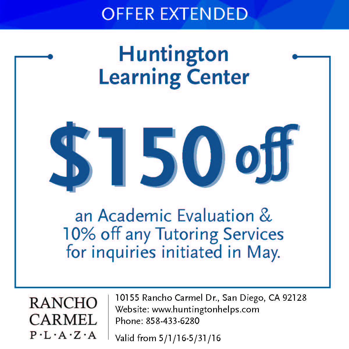 Carmel coupon code