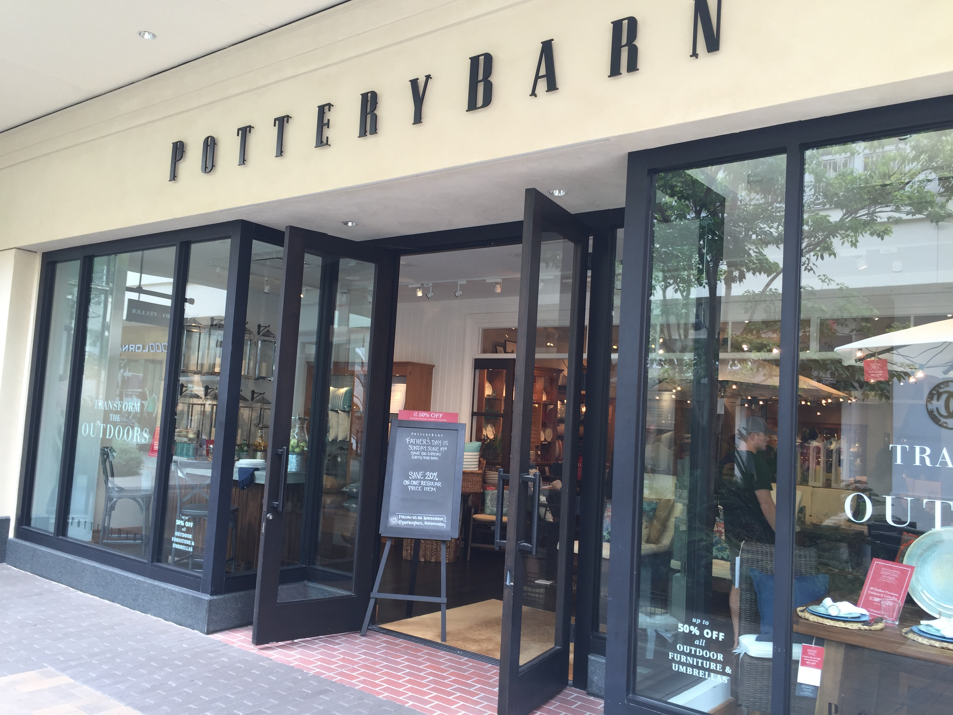 Pottery barn fashion valley san diego 66
