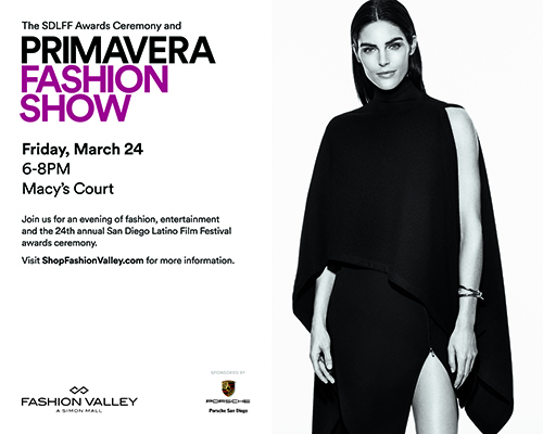 Primavera Fashion Valley invitation