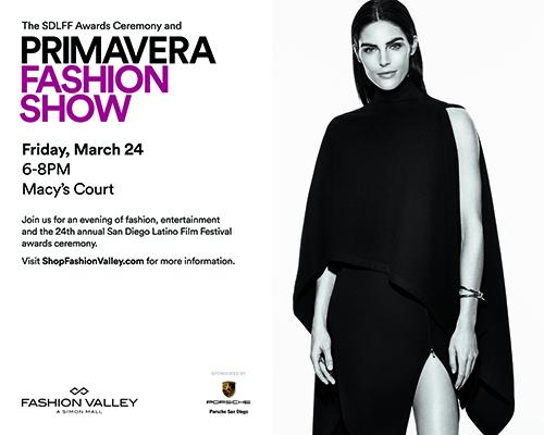 Primavera Fashion Valley invitation