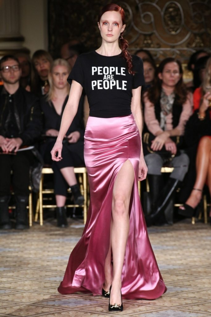 Christian Siriano AW 2017 People are People